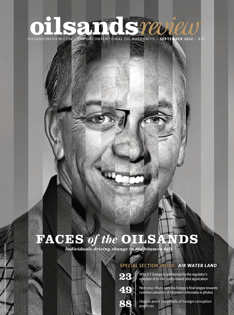 Oilsands Review magazine, Faces of the Oilsands, AMPA Award Nominated, Kenneth R. Wilson Award Nominee