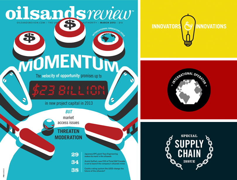 Oilsands Review magazine, Innovators and Innovations, International Operator, Supply Chain Special Issue